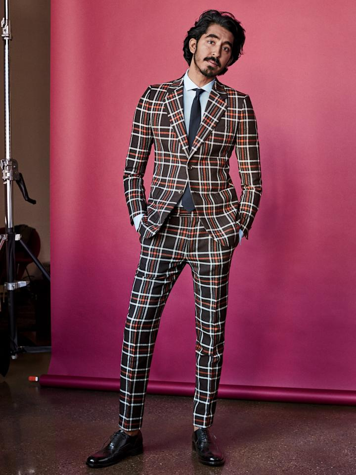 "<p>As actor and <a rel=""nofollow"" href=""http://www.gq.com/story/the-coolest-mens-hairstyle-in-2017-is-the-bro-flow?mbid=synd_yahoostyle"">newly-minted hair god</a> Dev Patel showed you <a rel=""nofollow"" href=""http://www.gq.com/story/dev-patel-spring-fashion?mbid=synd_yahoostyle"">in our spring fashion forecast</a>, the plaid suit is back. Only this season, like most designer menswear in 2017, its bolder than ever before. You can follow Patel's lead and go balls-out with a retro-inspired <a rel=""nofollow"" href=""http://www.gq.com/story/gucci-alessandro-michele-loafers-embroidery?mbid=synd_yahoostyle"">Gucci number</a> or follow suit with any of the following business-friendly options.</p>"