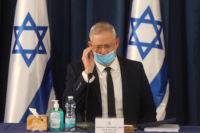 Israeli Defense Chief Benny Gantz Says West Bank Annexation 'Will Wait' Due to Pandemic