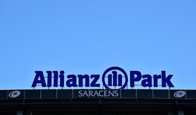 Name change: Allianz are ending sponsorship of Saracens and their Barnet Copthall Stadium (AFP Photo/Glyn KIRK )