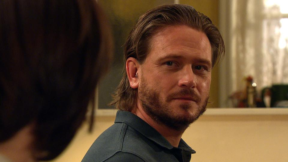 FROM ITV  STRICT EMBARGO  Print media - No Use Before Tuesday 29th June 2021 Online Media - No Use Before 0700hrs  Tuesday 29th June 2021  Emmerdale - Ep 9094  Thursday 8th July 2021 - 1st Ep  The sparks are starting to fly between them as David Metcalfe [MATTHEW WOLFENDEN] and Victoria Sugden [ISABEL HODGINS] enjoy each otherÕs company. Later, caught up in their moment, David leans forward and kisses Victoria.   Picture contact David.crook@itv.com   This photograph is (C) ITV Plc and can only be reproduced for editorial purposes directly in connection with the programme or event mentioned above, or ITV plc. Once made available by ITV plc Picture Desk, this photograph can be reproduced once only up until the transmission [TX] date and no reproduction fee will be charged. Any subsequent usage may incur a fee. This photograph must not be manipulated [excluding basic cropping] in a manner which alters the visual appearance of the person photographed deemed detrimental or inappropriate by ITV plc Picture Desk. This photograph must not be syndicated to any other company, publication or website, or permanently archived, without the express written permission of ITV Picture Desk. Full Terms and conditions are available on  www.itv.com/presscentre/itvpictures/terms