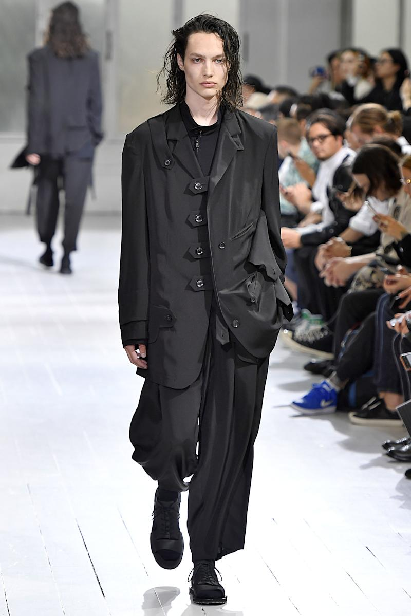 FEEL the Yohji. LIVE the Yohji. BE the Yohji. Photo by Victor VIRGILE/Gamma-Rapho via Getty Images.