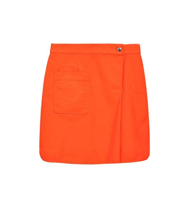 "<p>Patch Pocket Wrap Skirt, $89 (on sale $27), <a href=""https://www.cosstores.com/us/Women/Skirts/Patch_pocket_wrap_skirt/7086-26306125.1#c-15133319"" rel=""nofollow noopener"" target=""_blank"" data-ylk=""slk:cosstores.com"" class=""link rapid-noclick-resp"">cosstores.com</a> </p>"