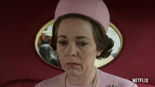 Olivia Coleman as the Queen in The Crown series three