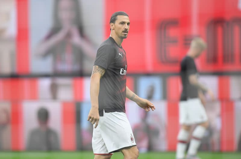 Zlatan criticises Sweden soccer boss over Kulusevski snub