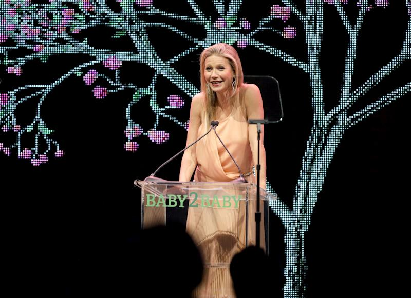 Gwyneth Paltrow attends the Baby2Baby Gala presented by Paul Mitchell on Nov. 9, 2019, in Los Angeles.