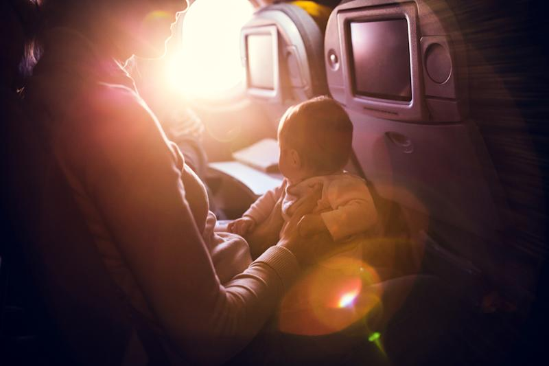Travelling with a young baby can be daunting but it doesn't have to be [Photo: Getty]