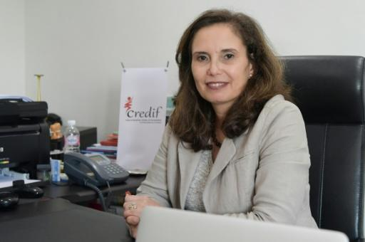 Najla Allani, director of research centre Credif, an organisation that has launched an awareness campaign on sexual harassment on public transport