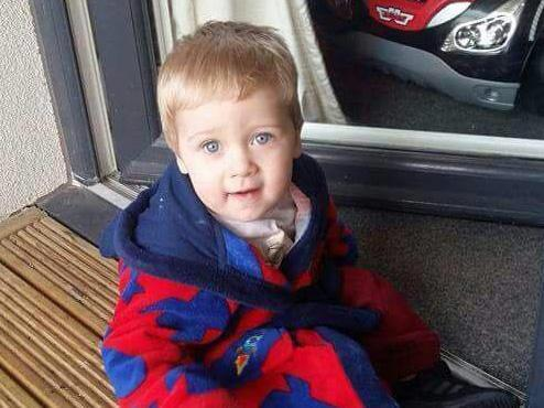 A photograph of Kayden shared on the public Facebook page 'RIP Kayden Bancroft gone too soon' (Facebook)