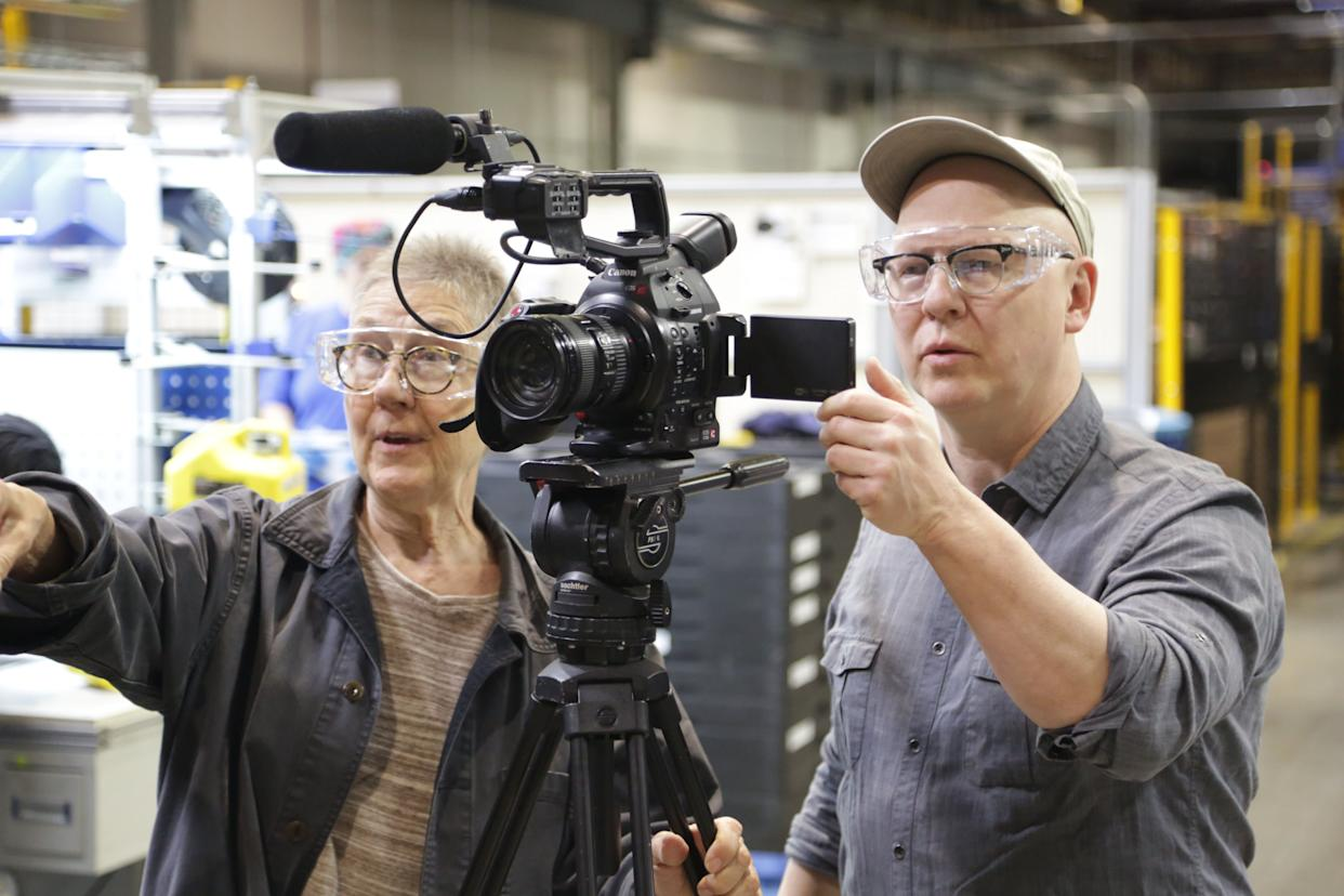 """American Factory"" co-directors Julia Reichert (left) and Steven Bognar (right). Their documentary is the first Netflix project to be released under the banner of Barack and Michelle Obama's production company, Higher Ground Productions. (Photo: Netflix)"