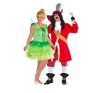 """<p>Tinkerbell and Captain Hook may not technically be a couple, but it's Halloween, and you make the rules. They can be a couple for the night. </p><p><a class=""""link rapid-noclick-resp"""" href=""""https://www.partycity.com/womens-tinker-bell-costume-plus-size---peter-pan-P789299.html"""" rel=""""nofollow noopener"""" target=""""_blank"""" data-ylk=""""slk:SHOP TINKERBELL COSTUME"""">SHOP TINKERBELL COSTUME</a></p><p><strong><a class=""""link rapid-noclick-resp"""" href=""""https://www.partycity.com/mens-captain-hook-costume-plus-size---peter-pan-P789372.html"""" rel=""""nofollow noopener"""" target=""""_blank"""" data-ylk=""""slk:SHOP CAPTAIN HOOK COSTUME"""">SHOP CAPTAIN HOOK COSTUME</a></strong></p>"""
