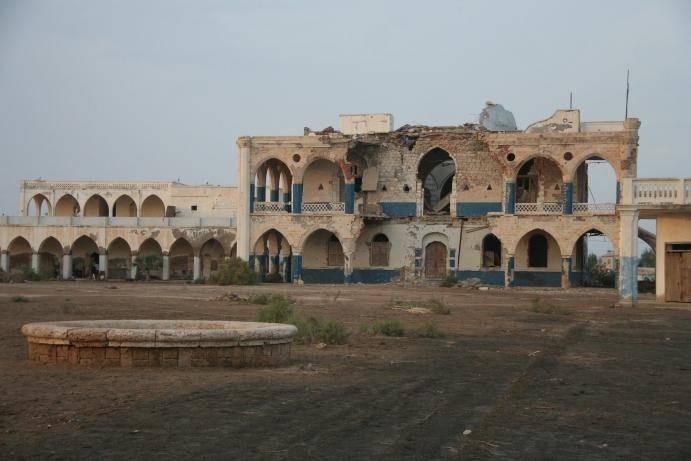 The crumbling former Governor's Palace in Massawa (Nick Redmayne)