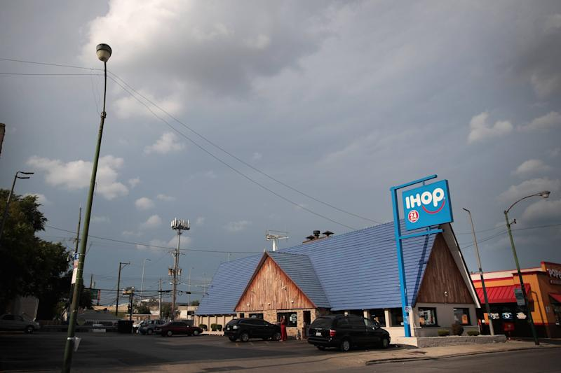 IHOP is changing its name to IHOB. What does that mean?