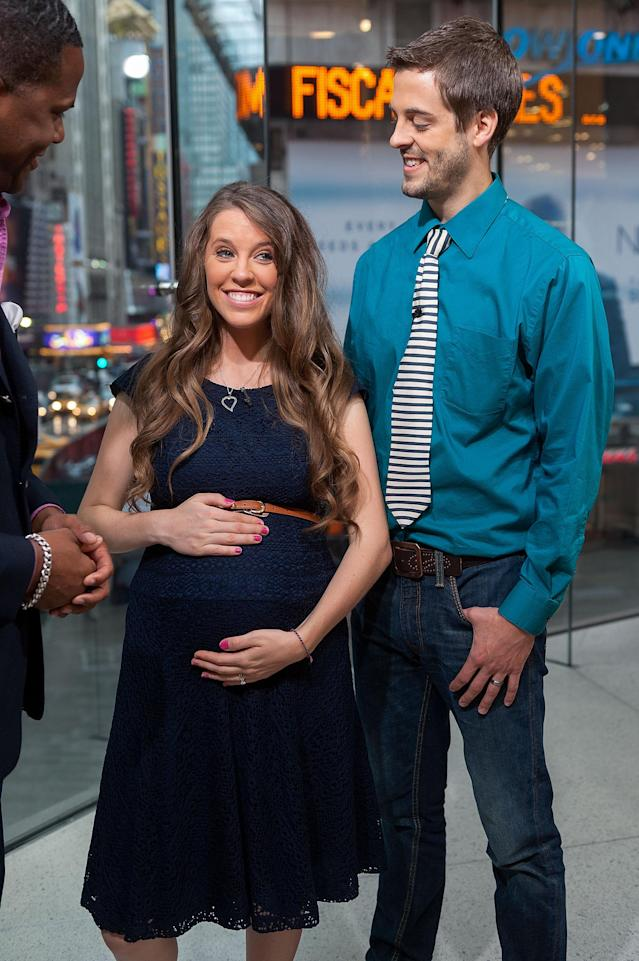 Jill Duggar Dillard, pictured with husband Derick, isn't universally praised for her cooking skills. (Photo: Getty Images)