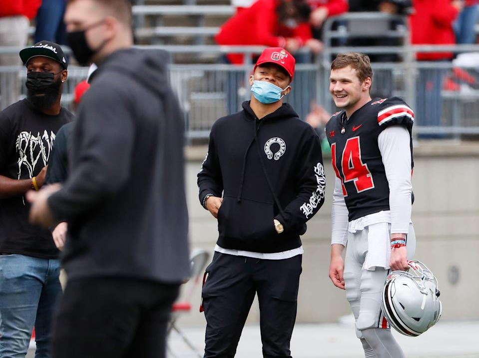 Justin Fields was reportedly best QB in draft by several team scouts