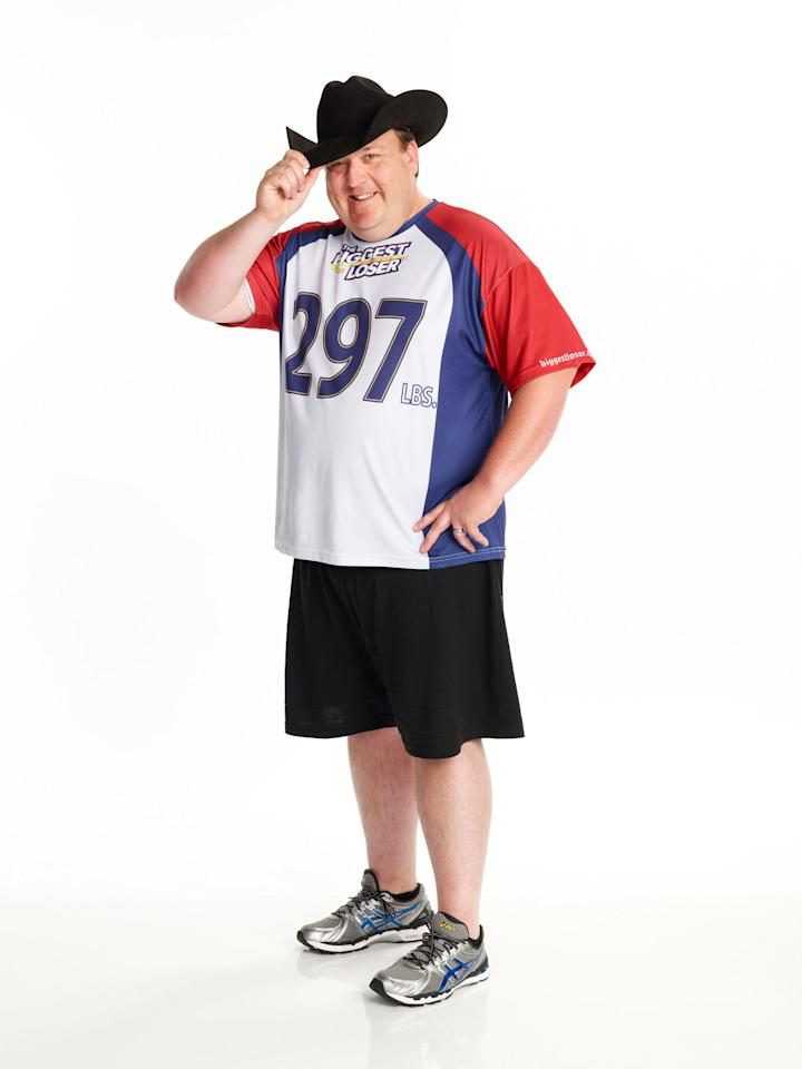 "Jay Sheets competes on NBC's ""The Biggest Loser"" Season 15."