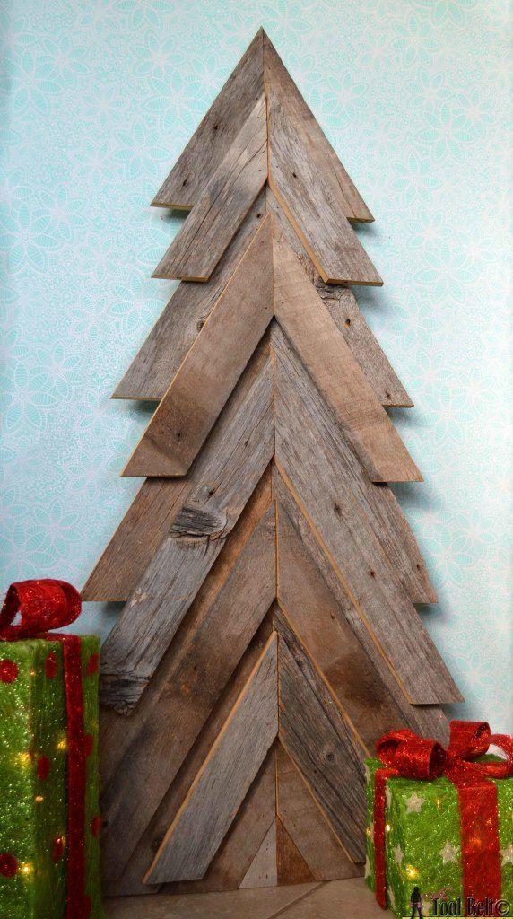 """<p>Even if the only Brad you know is Pitt, this is still a relatively simple project to do because the cuts you need to make to create the chevron shape are all the same angle.</p><p><strong>Get the tutorial at <a href=""""https://www.hertoolbelt.com/rustic-christmas-tree/"""" rel=""""nofollow noopener"""" target=""""_blank"""" data-ylk=""""slk:Her Tool Belt"""" class=""""link rapid-noclick-resp"""">Her Tool Belt</a>.</strong></p><p><a class=""""link rapid-noclick-resp"""" href=""""https://www.amazon.com/BOSTITCH-BT1350B-1M-2-Inch-18-Gauge-Brads/dp/B000IZY4PO/ref=as_li_ss_tl?tag=syn-yahoo-20&ascsubtag=%5Bartid%7C10050.g.23322271%5Bsrc%7Cyahoo-us"""" rel=""""nofollow noopener"""" target=""""_blank"""" data-ylk=""""slk:SHOP BRAD NAILS"""">SHOP BRAD NAILS</a><br></p>"""