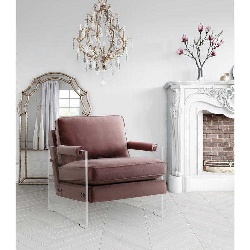 "<a href=""https://www.wayfair.com/Willa-Arlo-Interiors-Edi-Velvet-Lucite-Armchair-WLAO2277.html"" target=""_blank"">Get it here</a> from Wayfair."