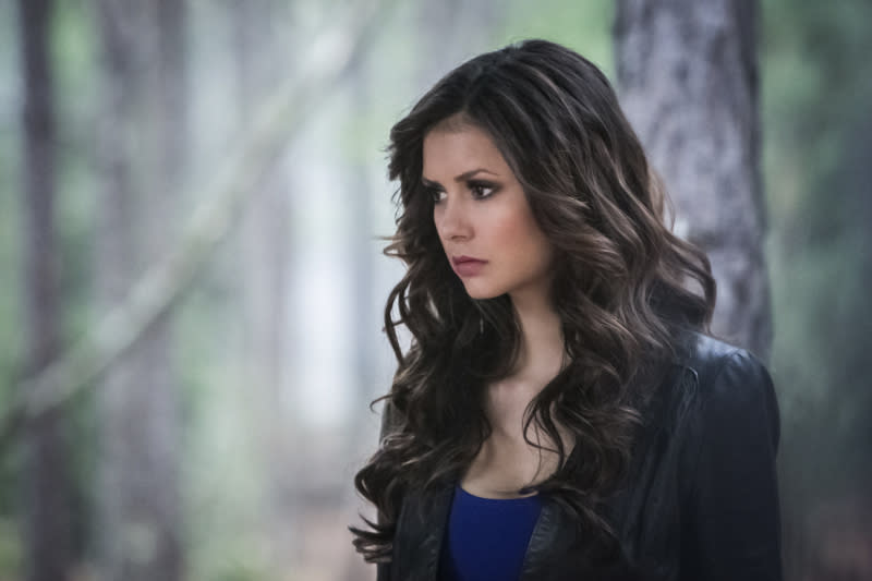 """The Walking Dead"" -- Nina Dobrev as Katherine"