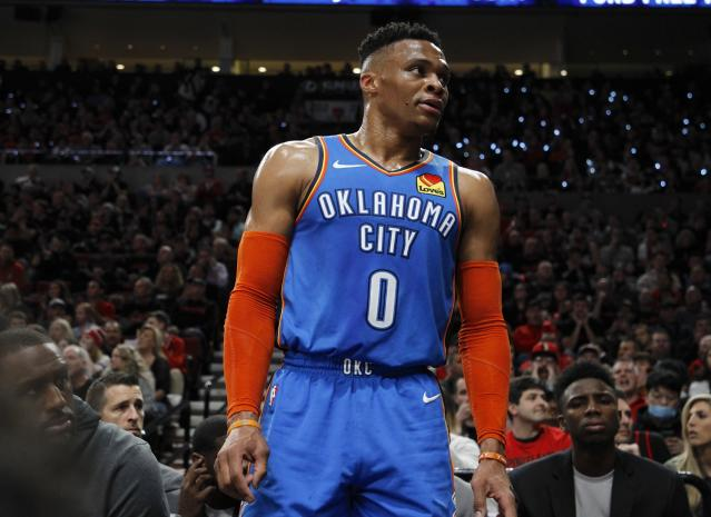 Russell Westbrook (AP Photo/Steve Dipaola)