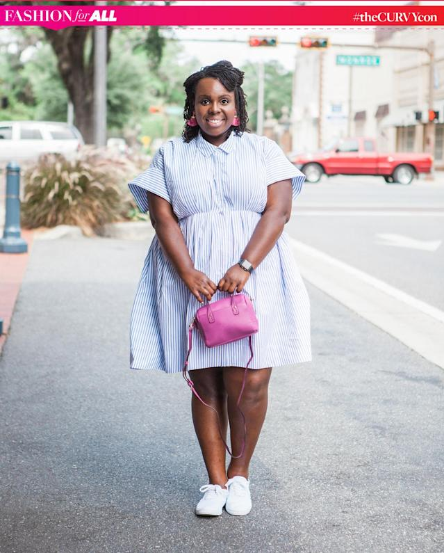 """CeCe Olisa [Photo provided by CeCe Olisa]. Olisa is a co-founder of theCURVYcon, the body positive conference <a href=""""https://www.yahoo.com/style/women-behind-plus-size-fashion-event-thecurvycon-spill-years-secrets-130045348.html"""" data-ylk=""""slk:headlined by Emmy-nominated actress Chrissy Metz;outcm:mb_qualified_link;_E:mb_qualified_link"""" class=""""link rapid-noclick-resp newsroom-embed-article"""">headlined by Emmy-nominated actress Chrissy Metz</a>that will be livestreamed <a href=""""https://www.yahoo.com/style/curvycon-watch-live-135500219.html"""" data-ylk=""""slk:exclusively on Yahoo Style;outcm:mb_qualified_link;_E:mb_qualified_link"""" class=""""link rapid-noclick-resp newsroom-embed-article""""> exclusively on Yahoo Style</a> on Friday, 9/8 ay 6pm and starting at 10am on Saturday, 9/9."""