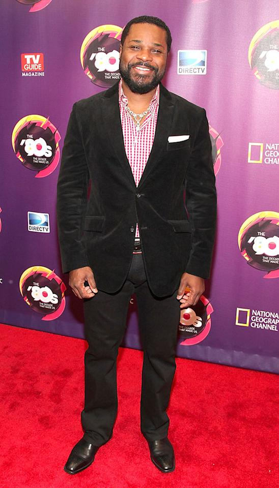 """Malcolm-Jamal Warner attends Nat Geo's """"The '80s: The Decade That Made Us"""" New York Premiere at Culture Club on April 9, 2013 in New York City."""