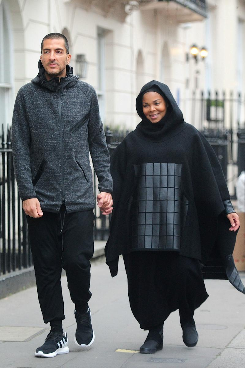 Janet Jackson and Husband Wissam Al Mana Step Out for