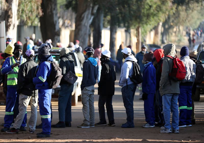 South Africa's unemployment rate hits record high in first quarter