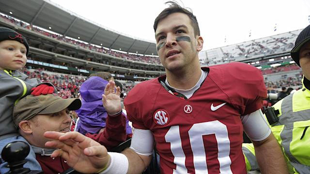 McCarron is opening a build-your-own sushi restaurant in downtown Tuscaloosa, according to Alabama's student newspaper, The Crimson White.