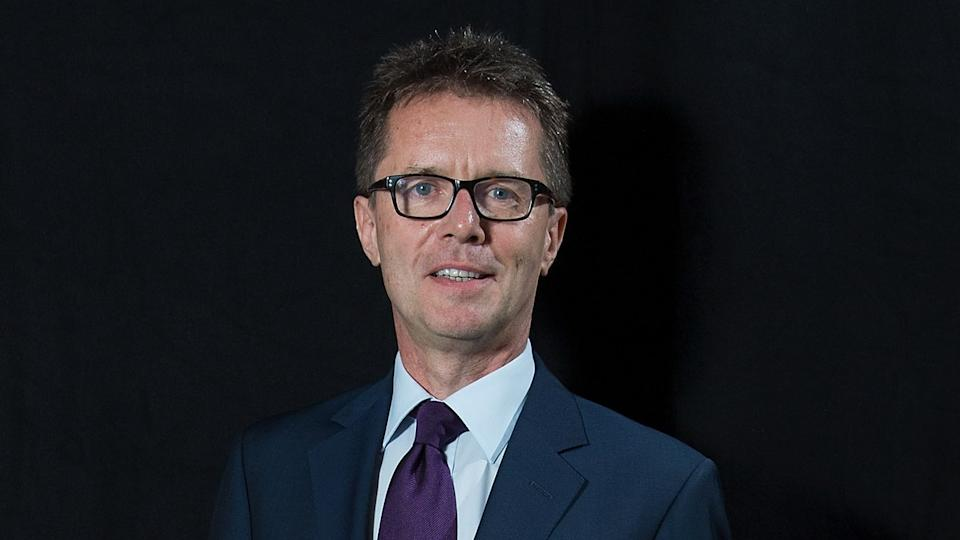 Nicky Campbell at an awards show in 2016 (Dave J Hogan/Getty Images)