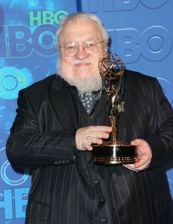 George R. R. Martin is pissed at United.