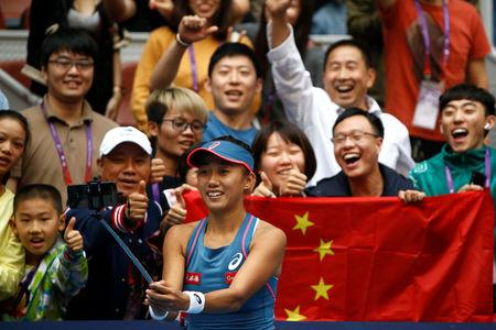 Naomi Osaka into China Open quarters, Zhang upsets Kerber