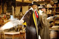 """<p>Load up this post-Civil War <a class=""""link rapid-noclick-resp"""" href=""""https://www.popsugar.com/Quentin-Tarantino"""" rel=""""nofollow noopener"""" target=""""_blank"""" data-ylk=""""slk:Quentin Tarantino"""">Quentin Tarantino</a> thriller. It's about two bounty hunters and a captive who encounter a group of questionable strangers while trying to find shelter from a Wyoming blizzard. There's gore and <a class=""""link rapid-noclick-resp"""" href=""""https://www.popsugar.com/Samuel-L.-Jackson"""" rel=""""nofollow noopener"""" target=""""_blank"""" data-ylk=""""slk:Samuel L. Jackson"""">Samuel L. Jackson</a>, so you know it's got to be worth the whopping three hours. </p> <p><a href=""""http://www.netflix.com/title/80064515"""" class=""""link rapid-noclick-resp"""" rel=""""nofollow noopener"""" target=""""_blank"""" data-ylk=""""slk:Watch The Hateful Eight on Netflix now."""">Watch <strong>The Hateful Eight</strong> on Netflix now.</a></p>"""