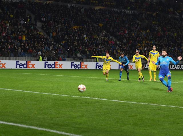 Five things we learned from Arsenal's erratic 4-2 win against BATE Borisov in the Europa League