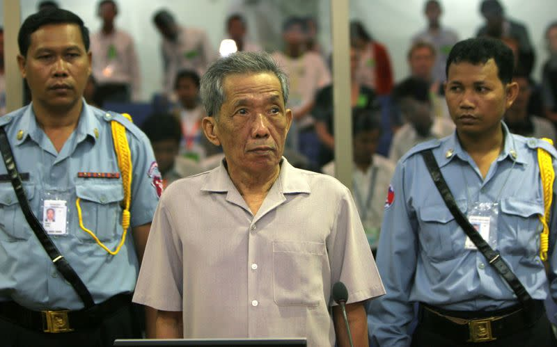 Cambodia's Khmer Rouge executioner turned born-again Christian, Duch, dies