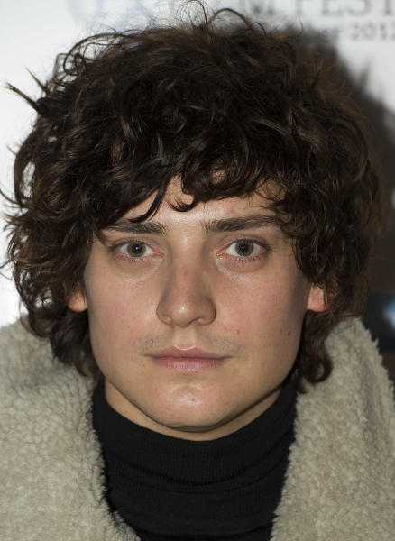 """Actor Aneurin Barnard arrives during the BFI London Film Festival at the premiere of """"Citadel"""" on Friday, Oct. 19, 2012, in London. (Photo by Ki Price/Invision/AP)"""