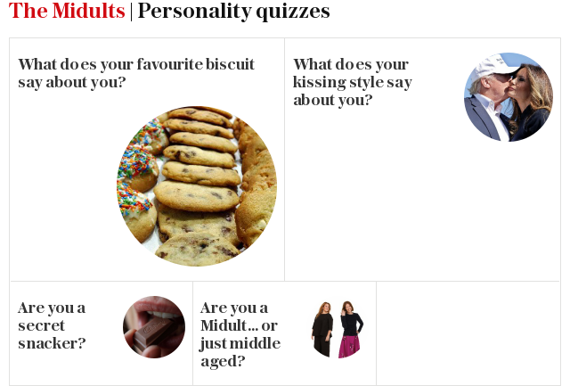 The Midults: Best quizzes