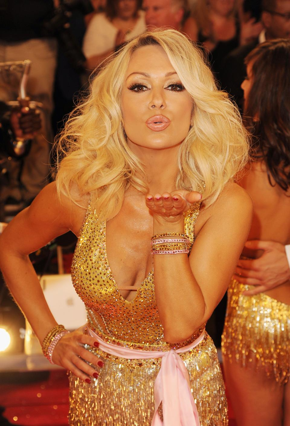 """On the subject of the 'curse', Kristina Rihanoff has some experience in that domain. She got together with Joe Calzaghe shortly after their time on the show, splitting in 2013.<br /><br />It was around this time that she was partnered with Ben Cohen, who would later become the father of her child.<br /><br />Judge Craig Revel Horwood later joked that Kristina was 'gutted' to be partnered with Daniel O'Donnell in 2015, adding: 'It was rather obvious she wasn't going to get a hot, young celeb after everything that's happened.<br /><br />""""It's natural to fall in love with your dance partner when you're spending so much time together and Kristina managed it a few times!""""<br /><br />Ouch."""