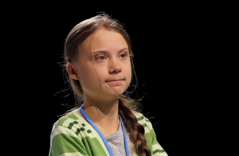 Climate change activist Greta Thunberg attends the High-Level event on Climate Emergency during the U.N. Climate Change Conference (COP25) in Madrid, Spain December 11, 2019. REUTERS/Susana Vera