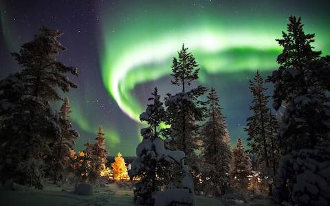 Spy the Northern Lights in Finland - Credit: istock