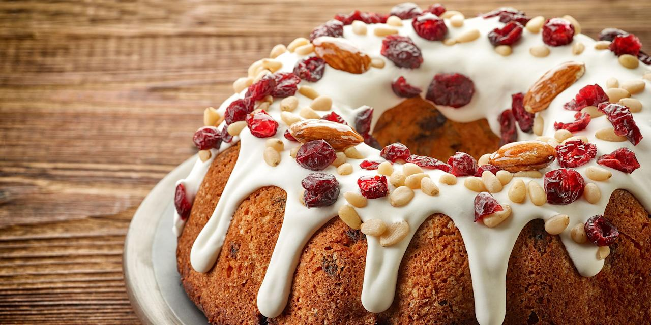 "<p>Whether you're a fruit loaf lover or skeptic of the <a rel=""nofollow"" href=""https://www.countryliving.com/food-drinks/g2806/best-christmas-cakes/"">Christmas cake</a>, these tasty <a rel=""nofollow"" href=""http://www.countryliving.com/food-drinks/g1036/easy-christmas-desserts/"">Yuletide dessert</a> recipes will make a fruitcake fan out of you before the holiday season is over. From <a rel=""nofollow"" href=""https://www.countryliving.com/food-drinks/g3849/christmas-cupcakes/"">cupcakes</a> to <a rel=""nofollow"" href=""https://www.countryliving.com/food-drinks/g647/holiday-cookies-1208/"">cookies</a>, bundts to <a rel=""nofollow"" href=""https://www.countryliving.com/food-drinks/g2759/christmas-candy-recipes/"">homemade fudge</a>, these easy-to-make treats are so delicious, even the pickiest eaters won't be able to resist them.</p>"