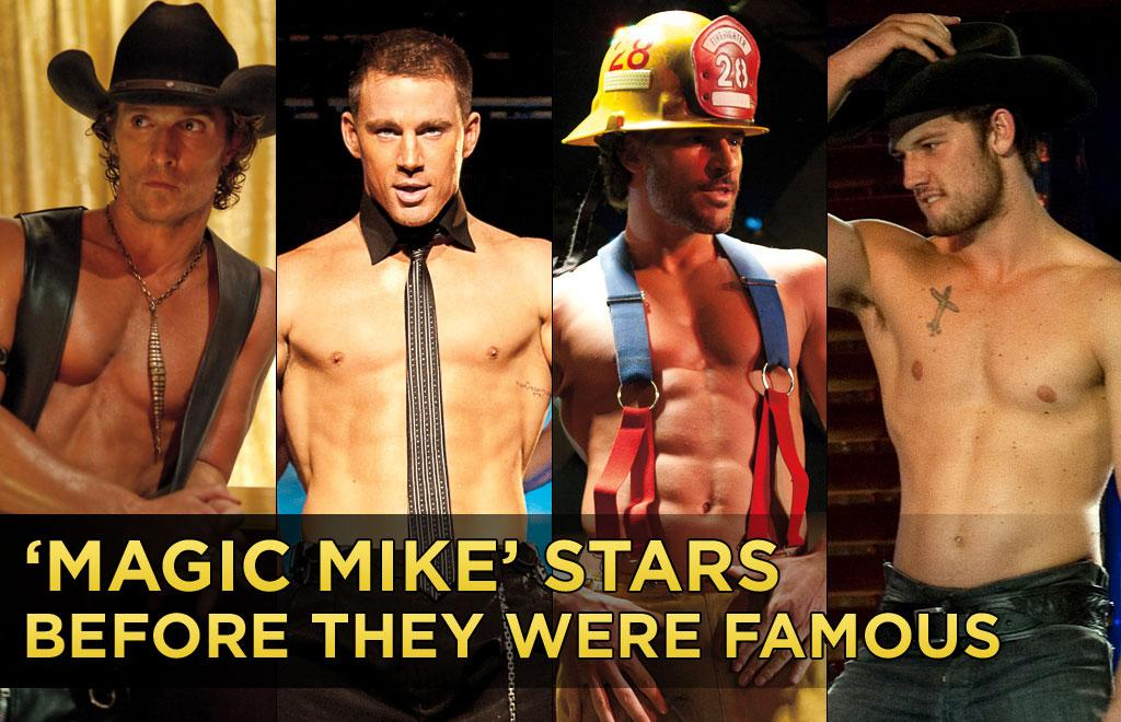 "Before they took their clothes off for Steven Soderbergh, and the world, there were varying times in which they were all unknown. Some were athletes, some took to the theater stage -- not the stripper stage -- and others were simply high school eye candy. Click to find out who's who in ""Magic Mike"" Stars: Before They Were Famous."