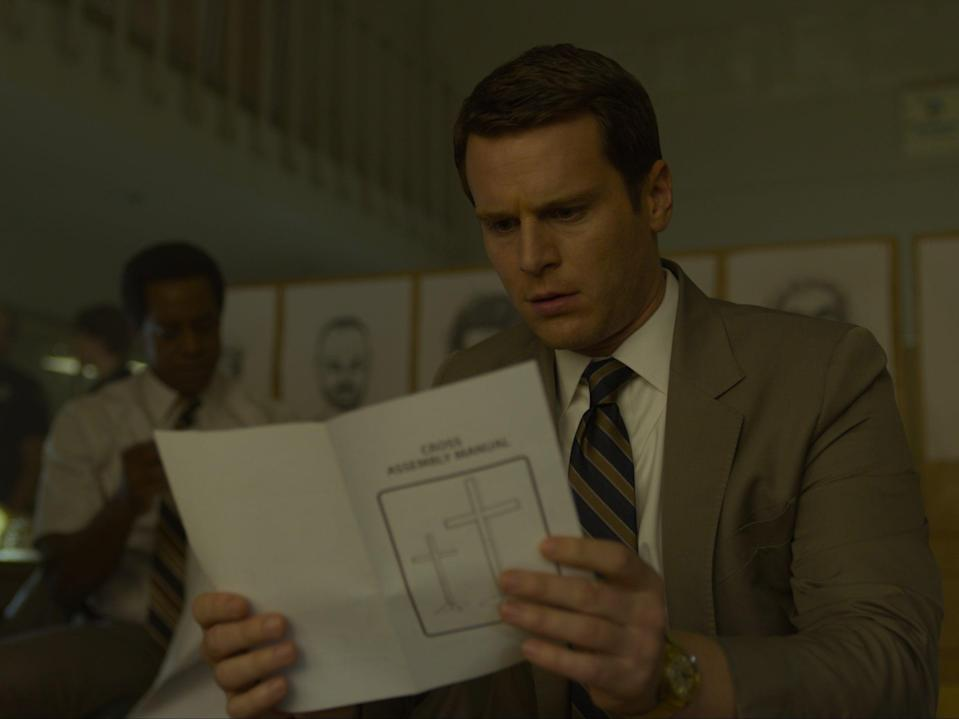 Albert Jones and Jonathan Groff in 'Mindhunter' (Courtesy of Netflix)