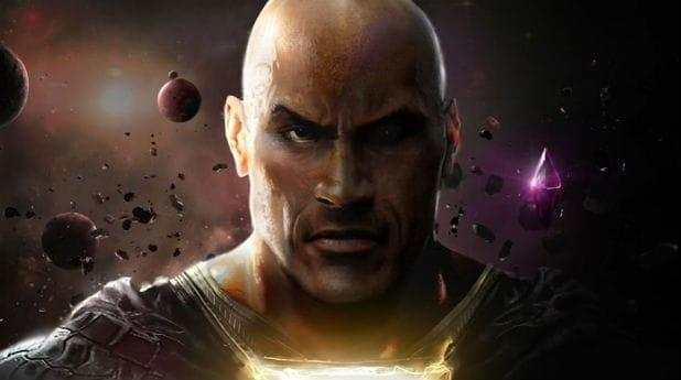 Black Adam The Rock Close Up