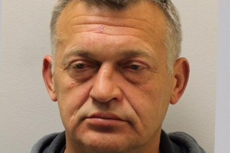 <p>Detectives are trying to track down Petras Zalynas, 50</p> (Met Police)