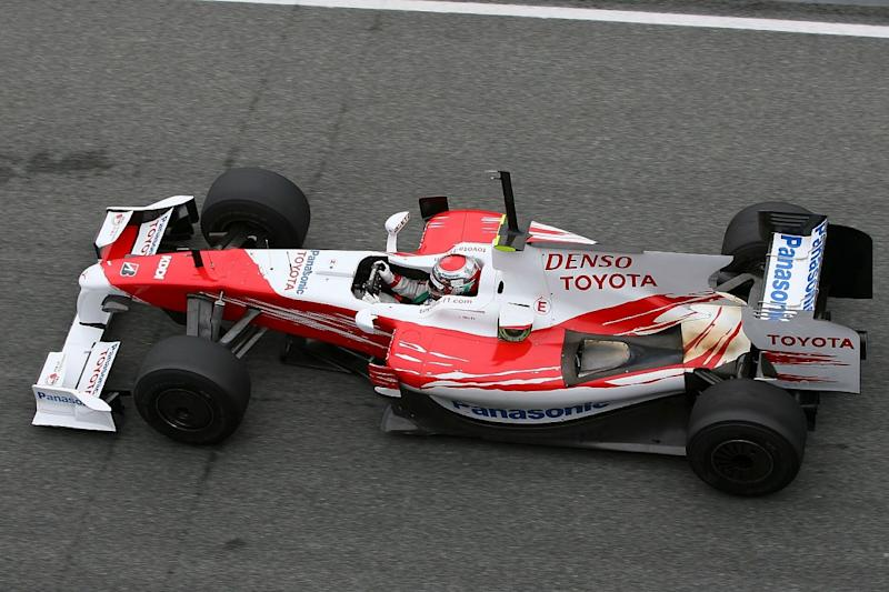 Toyota F1 car to be auctioned for COVID-19 charity