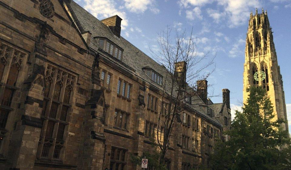 "The lawsuit against Yale had been filed in October by Trump's team after the Justice Department accused the school of imposing ""undue and unlawful penalties"". Photo: AP"