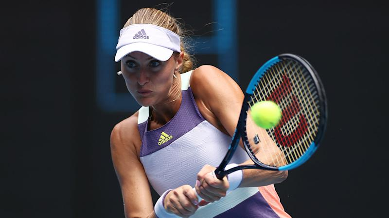 US Open 2020: Mladenovic enters 'bubble in a bubble' after coming into contact with Paire