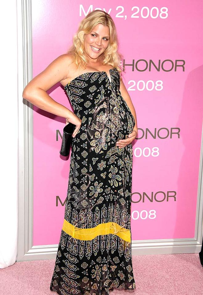 "Busy Philipps will be joining her former ""Dawson's Creek"" costars Katie Holmes and Michelle Williams in the ranks of motherhood. The actress is expecting a girl in July or August. Gary Gershoff/<a href=""http://www.wireimage.com"" target=""new"">WireImage.com</a> - April 28, 2008"