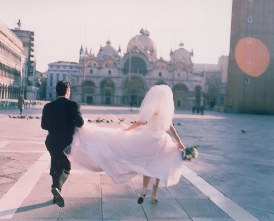 An intimate ceremony could be an option? (Getty Images)
