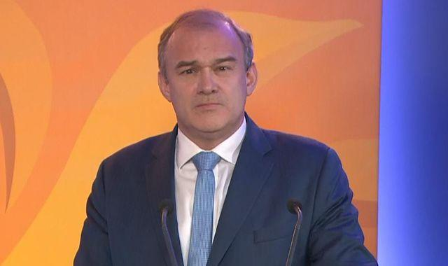 Liberal Democrat conference: Sir Ed Davey accuses Boris Johnson of 'failing' country in 'one of our darkest hours'